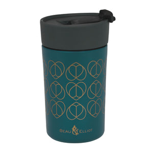 Beau & Elliot Insulated Travel Mug Teal 300ml - The Love Trees