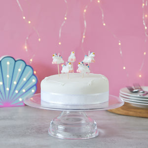 Unicorn Cake Candles - The Love Trees