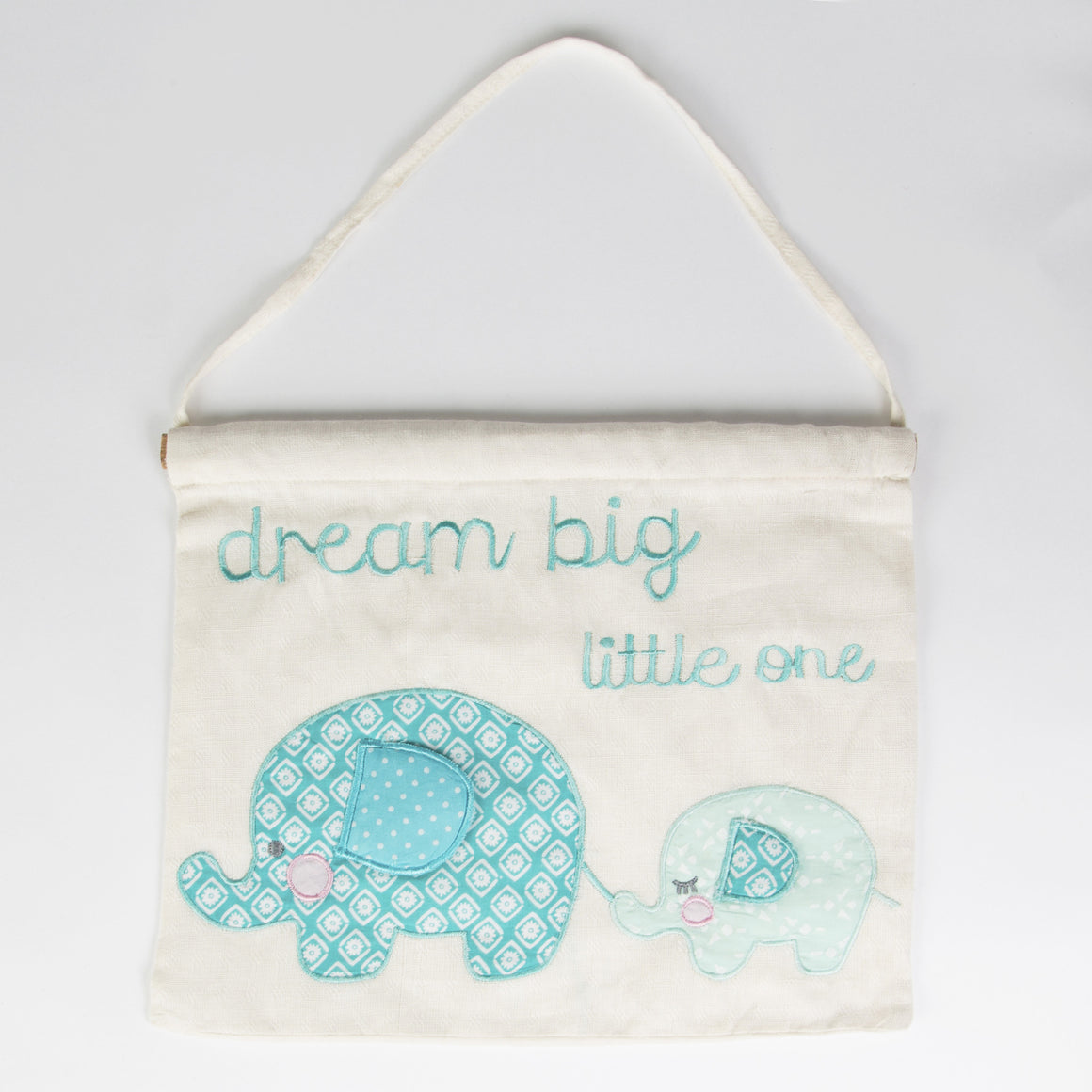 Elliot Elephant Banner Blue - The Love Trees