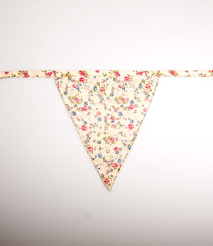 Stella Floral Fabric Bunting - The Love Trees