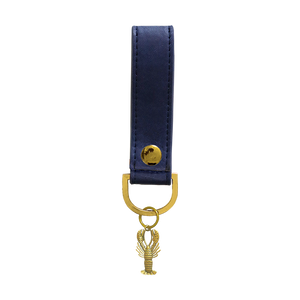 Sky + Miller Lobster Faux Leather Keyring - The Love Trees