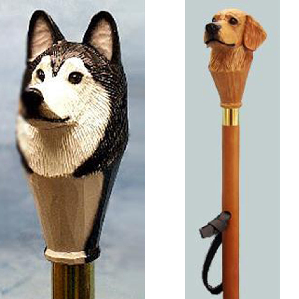 Dog Handle Hiking Staffs