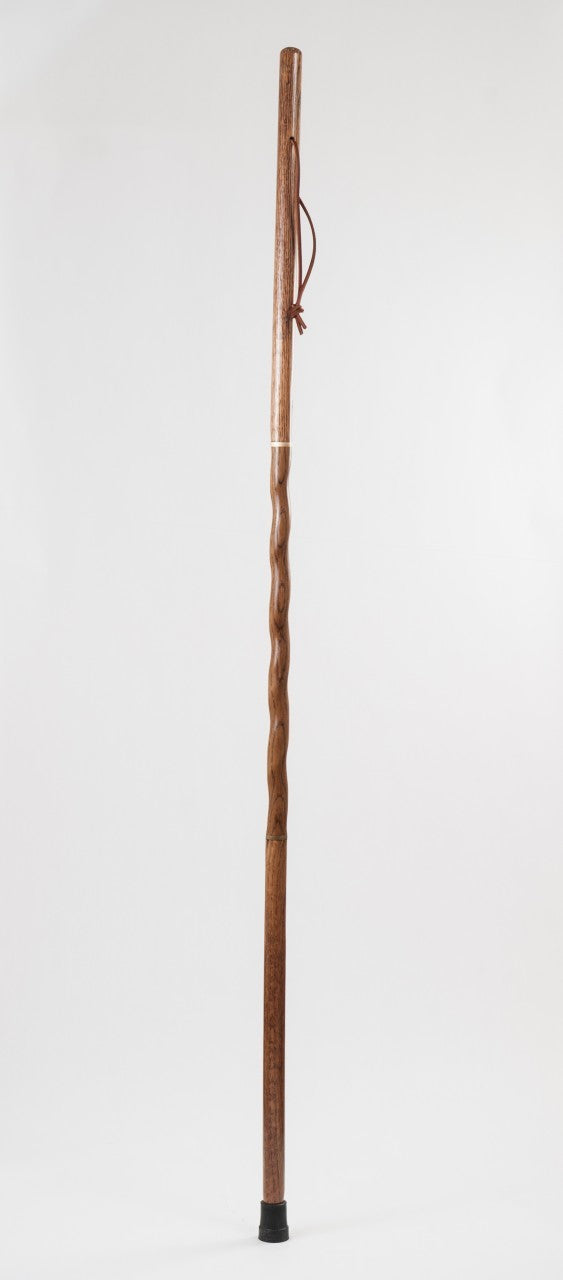 55 inch Travelers Walking Stick Red