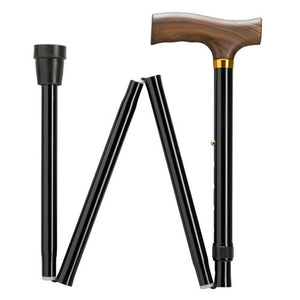 Shorter Folding Cane with Derby Handle