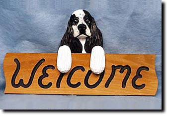 American Cocker Spaniel - Dog Welcome Sign