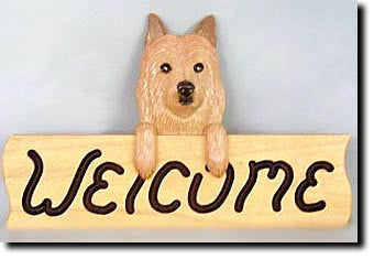 Australian Terrier - Dog Welcome Sign