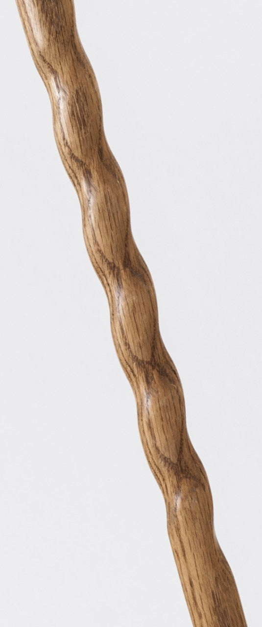 Brown Brazos Twisted Oak Walking Cane