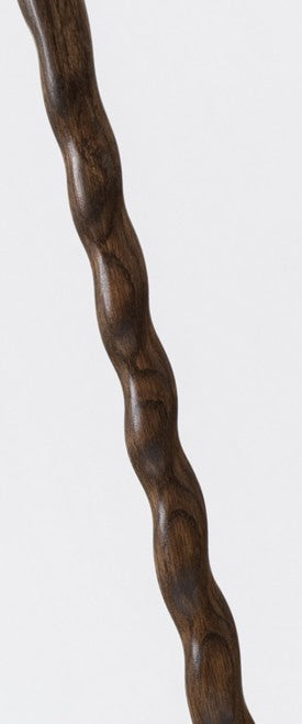 Oak Turned Knob Walking Cane Staff
