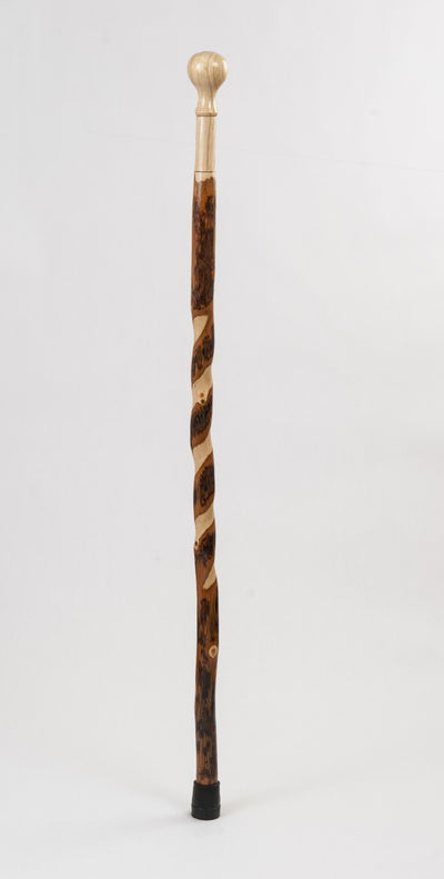 Brazos Wooden Hiking Staff for Trails