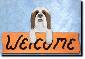 Bearded Collie - Dog Welcome Sign