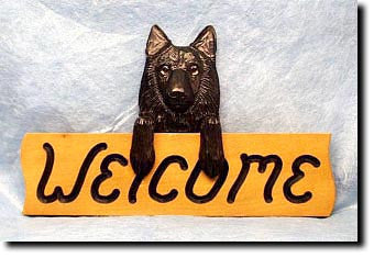 Belgian Sheepdog - Dog Welcome Sign