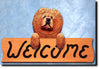 Chow Chow Dog Wooden Wall Topper Decor