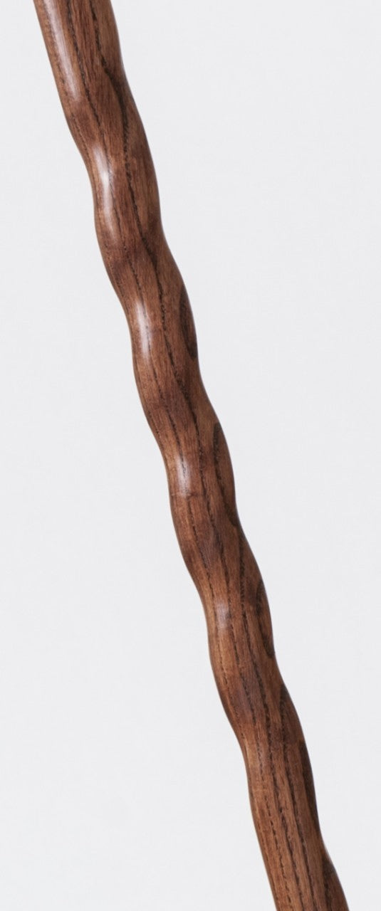 Ladies Twisted Oak Derby Walking Cane