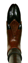 Deer Hoof Outdoors Hand Carved Hiking Stick