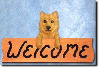 Finnish Spitz Dog Welcome Home Decor