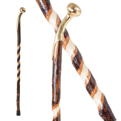 Cane Handle Hickory Walking Stick