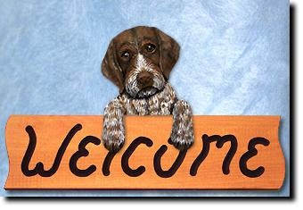 German Wire Haired Pointer Home Wall Decor