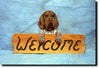 German Wirehaired Griffon Wood Welcome Sign