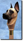 Great Dane Dog Hand-painted Hiking Staff