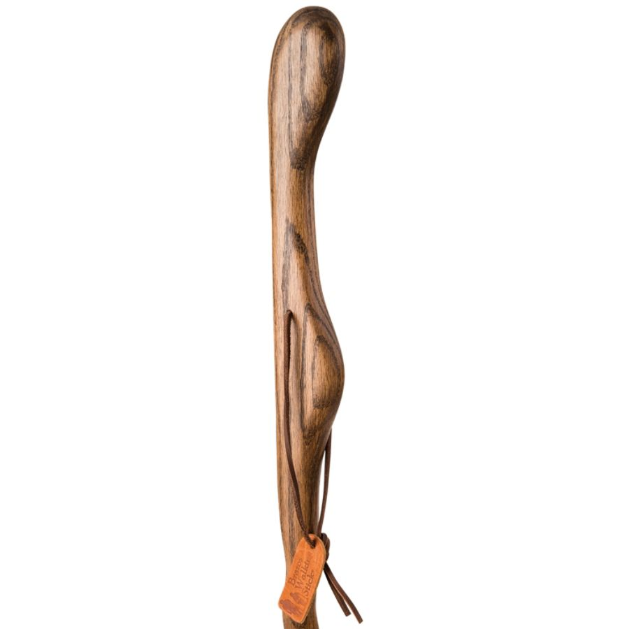 Hitchhiker Twisted Oak Hiking Stick Brown