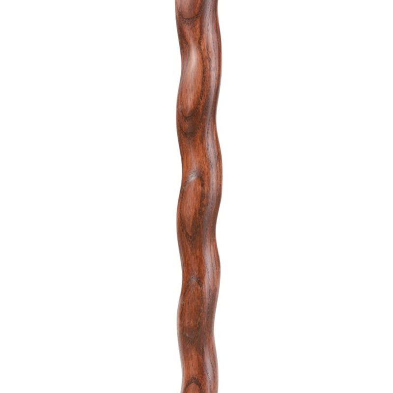 Hitchhiker Twisted Oak Walking Stick Red