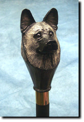 Norwegian Elkhound Dog Walking Stick