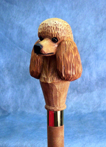 Poodle Dog Walking Stick