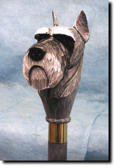 Schnauzer Miniature Dog Walking Stick