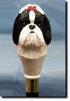 Shih Tzu Dog Hand-painted Hiking Staff