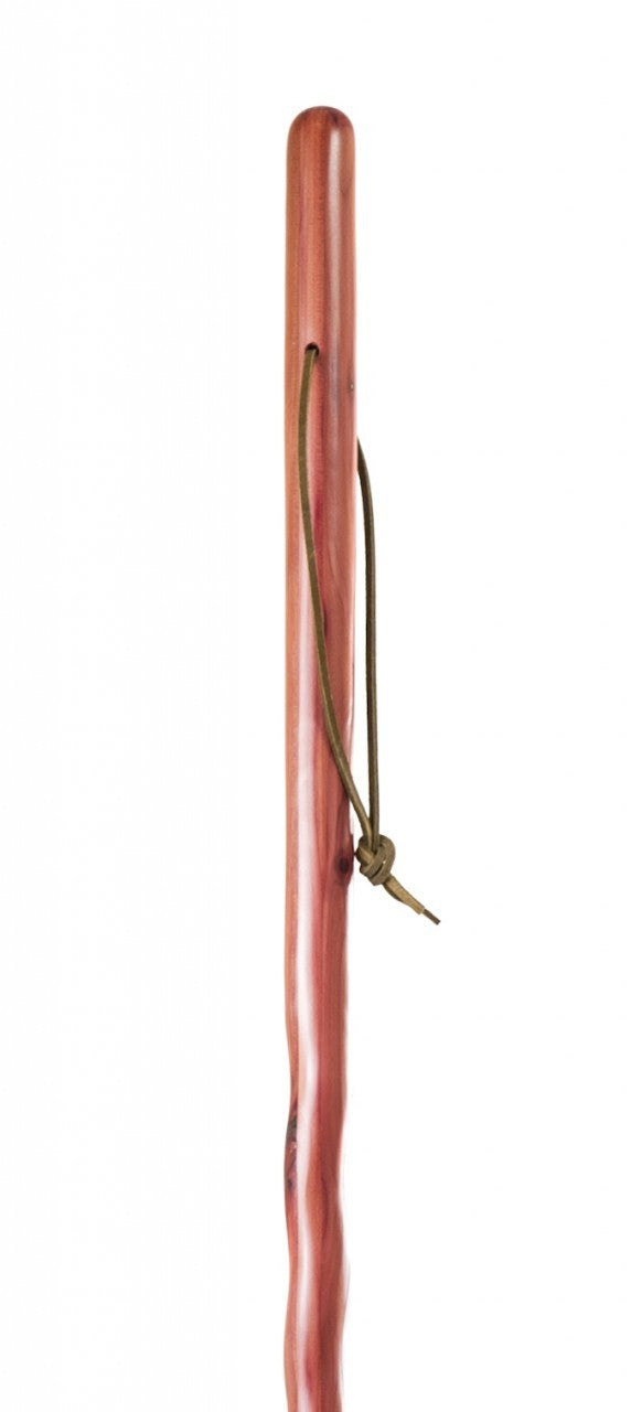 Twisted Aromatic Cedar Walking Stick