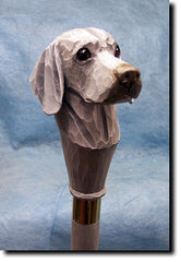 Weimaraner Dog Walking Stick