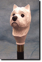West Highland Terrier Dog Walking Stick