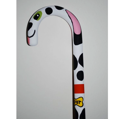 Lorraines Hand Painted Dog Canes