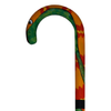 Sturdy Hand Painted Cane Snake