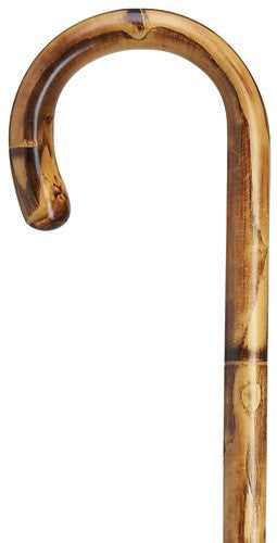 Maple Stepped and Scorched Cane