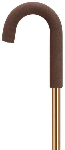 Womens Hypalon Crook in Solid Bronze Cane