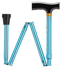 Simply Solid Folding Fritz Blue Cane