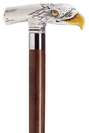 Eagle Head Walnut Cane