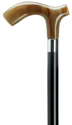 Mens Extra Thick Derby Fritz Handle Cane Durable Walking