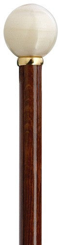 Ivory Ball Cherry Cane