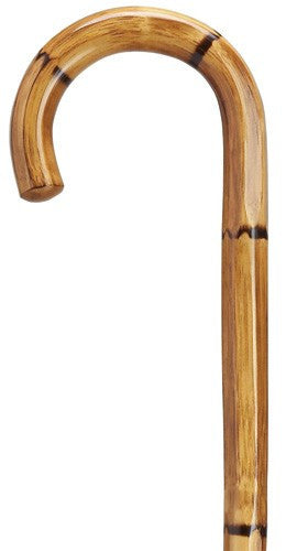 Hexagon Manilla Carving Cane
