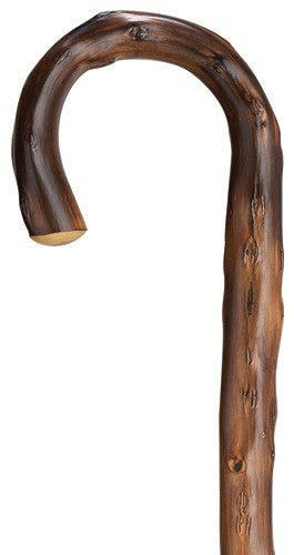 Mens Congo Chestnut Crook Cane