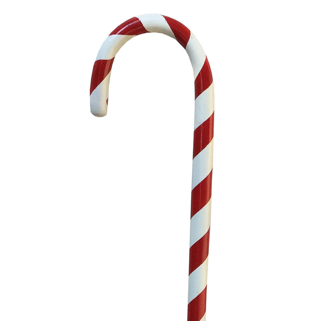 Hand Painted Cane Candy Cane