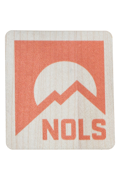 NOLS Wood Sticker