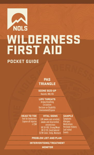 NOLS Wilderness Medicine Pocket Guide