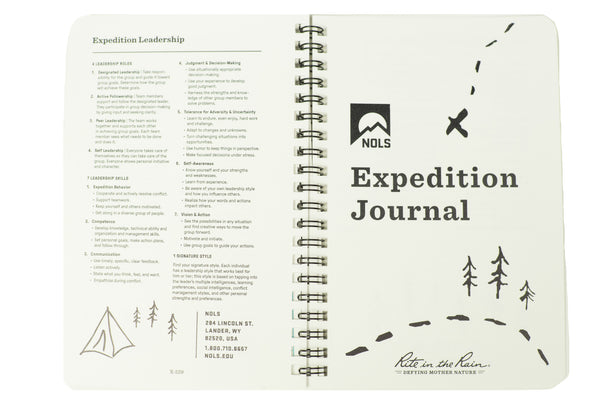 NOLS Expedition Journal