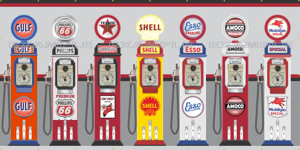Gas Pump Banners