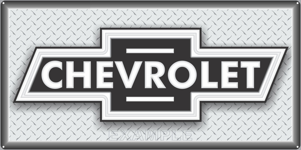 CHEVROLET CHEVY BOWTIE CARS AUTOMOBILES TRUCKS DEALER SALES OLD SIGN REMAKE ALUMINUM CLAD SIGN VARIOUS SIZES