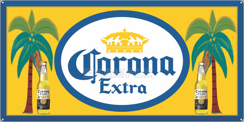 CORONA BEER BAR PUB TAVERN OLD SIGN REMAKE ALUMINUM CLAD SIGN VARIOUS SIZES