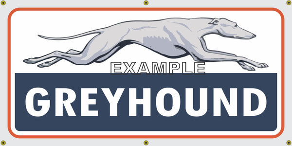 GREYHOUND BUS LINES DEPOT VINTAGE OLD SCHOOL SIGN REMAKE ...